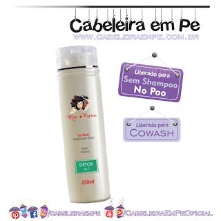Higienizador para Co-Wash Detox - Mari Morena (Liberado para No Poo e Cowash)