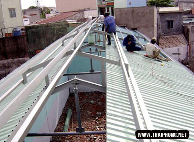 Công ty Thái Phong chuyên lợp tôn - thi công nhà xưởng Quận Gò Vấp