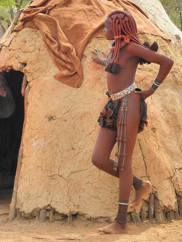 Himba People Africas Most Fashionable Tribe-7562