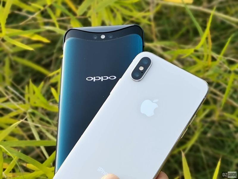 Apple iPhone X vs OPPO Find X - Camera Comparison