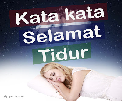 alternative kata kata selamat tidur