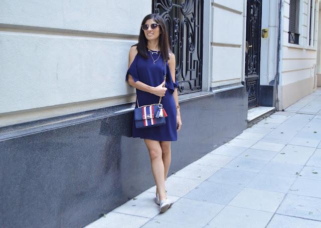 Gamiss Blue Dress 2