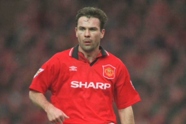 Players has Taken the No.9 at Manchester United - Brian McClair