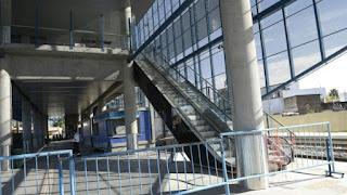 Fein se quejó de que se invirtió en la estación Rosario Sur pero faltan trenes