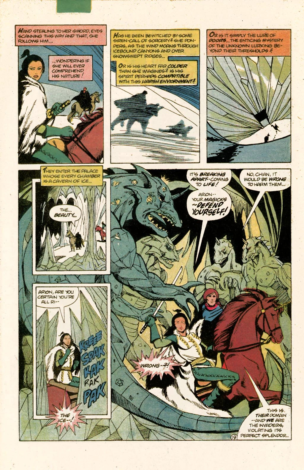 Read online Arion, Lord of Atlantis comic -  Issue #9 - 25