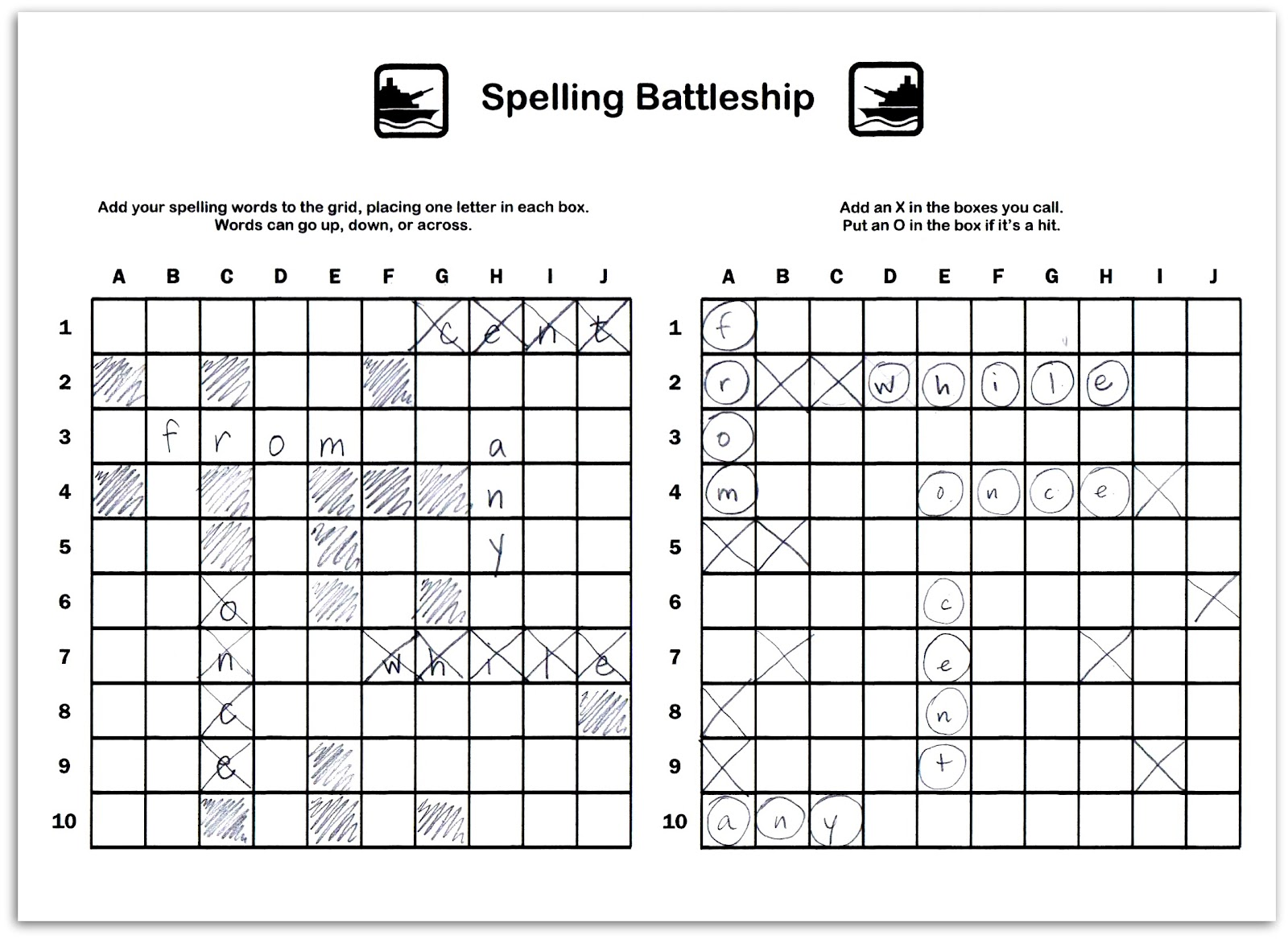 The gallery for --> Battleship Board Game Grid