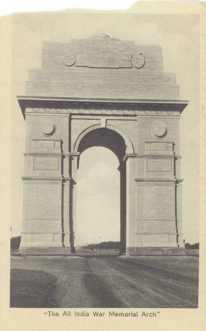 The All India War memorial Arch (India Gate Delhi)