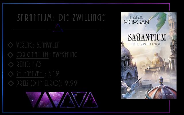 [Rezension] Sarantium: Die Zwillinge - Lara Morgan