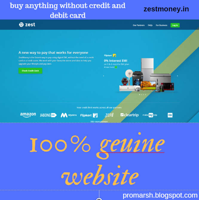 7a8b249c3 How to buy product in emi without credit card