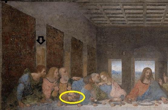 RoselineDaVinci: Does Saint Andrew in Da Vinci's Last Supper Da Vinci Last Supper High Resolution