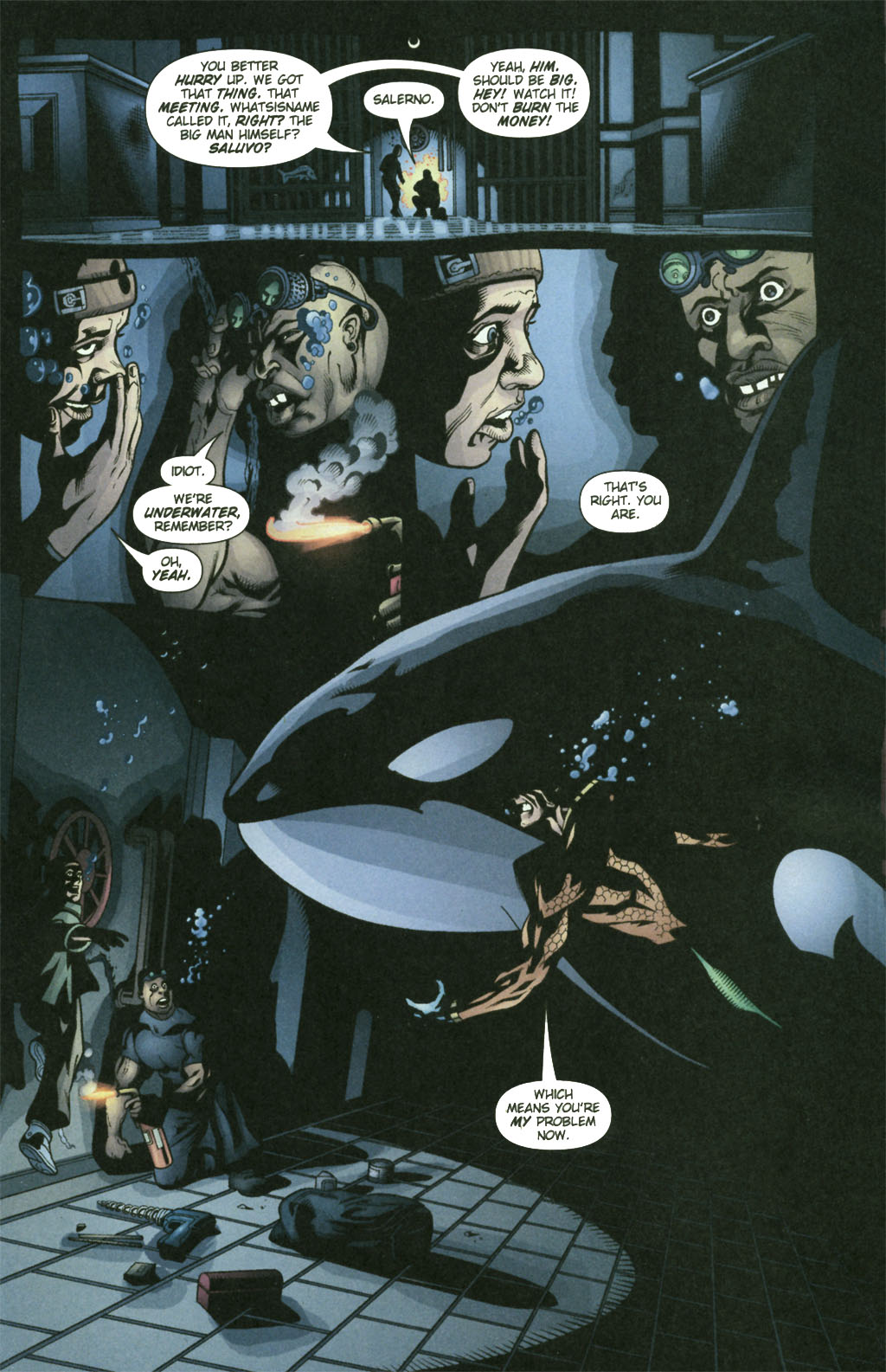 Read online Aquaman (2003) comic -  Issue #21 - 14
