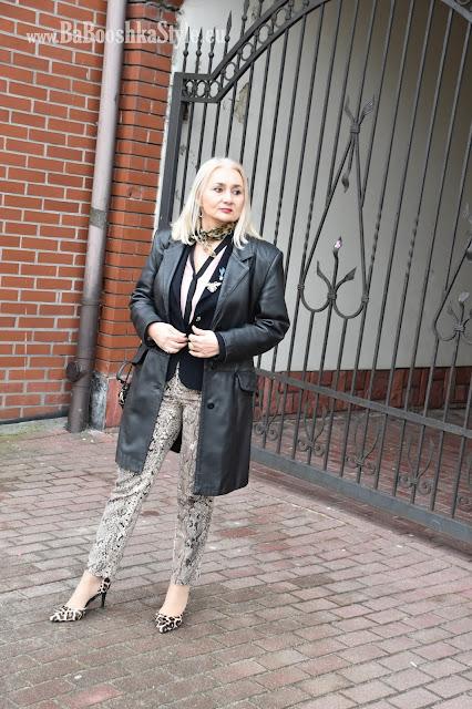 Atmosphere, BabooshkaStyle, Dune London, Heidi Klum Esmara, Stadivarius, blogfashion, over50style, animal print