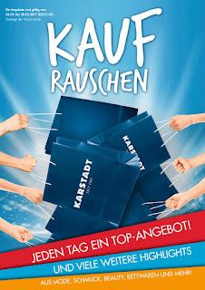 Jeden tag ein top-angebote Karstadt KW 12 - 22.03. bis 28.03.2017