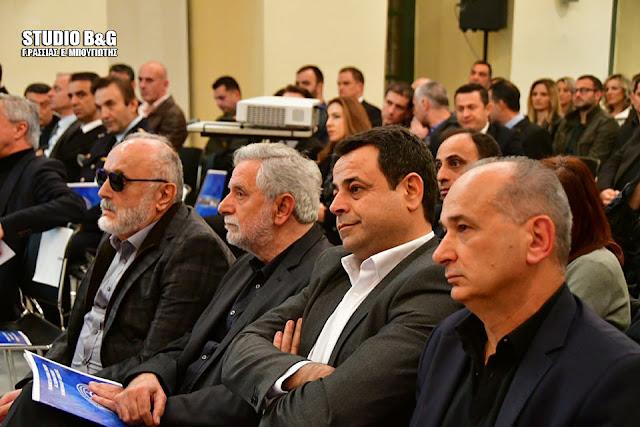 Παρουσία του Υπουργού Ναυτιλίας Π. Κουρουμπλή ξεκίνησε ο 10ο Συνέδριο της ΠΕΑΛΣ στο Ναύπλιο