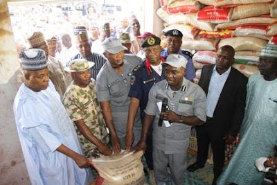 Donation of relief items to the internal displaced persons IN MAIDUGURI, BORNO STATE.