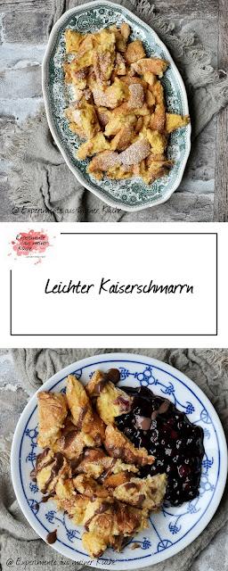 Leichter Kaiserschmarrn | Rezept | Essen | Hauptspeise | Dessert | Eierspeise | Weight Watchers