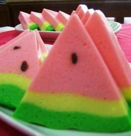 Cara Membuat Resep Pudding semangka Yang Unik - naresep.com