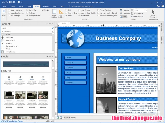 Download WYSIWYG Web Builder 14.2.1 Full Cr@ck – Phần mềm phát triển website
