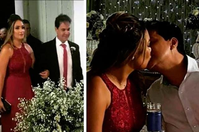 Namorada misteriosa do prefeito de Bom Jesus da Lapa pega o buquê e casamento deve acontecer em 2019