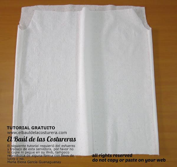 Patrón e Instrucciones para confección de Blusa Llanera