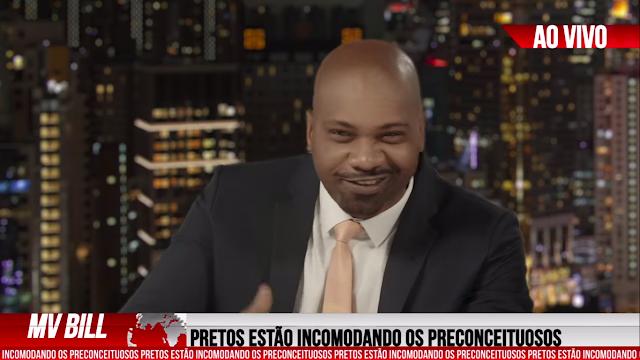 """Com fortes rimas pra cima dos racistas, MV Bill lança o clipe """"Vírus"""""""