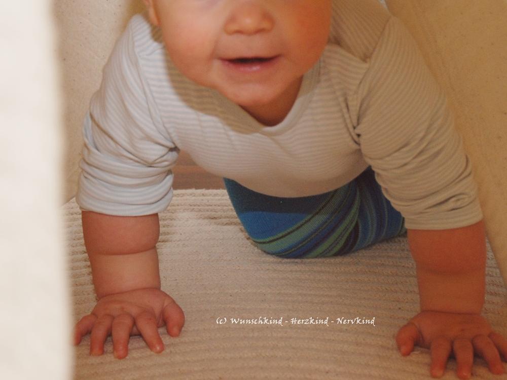 Kletterdreieck Pikler : Wunschkind herzkind nervkind das kletterdreieck ein