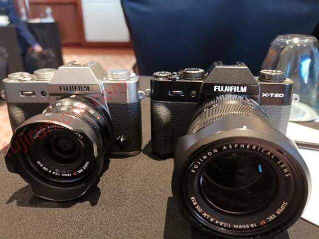 Fujifilm X-T30 и X-T20
