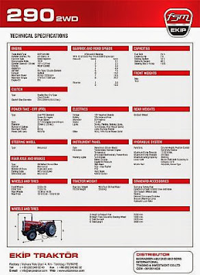 290 traktör