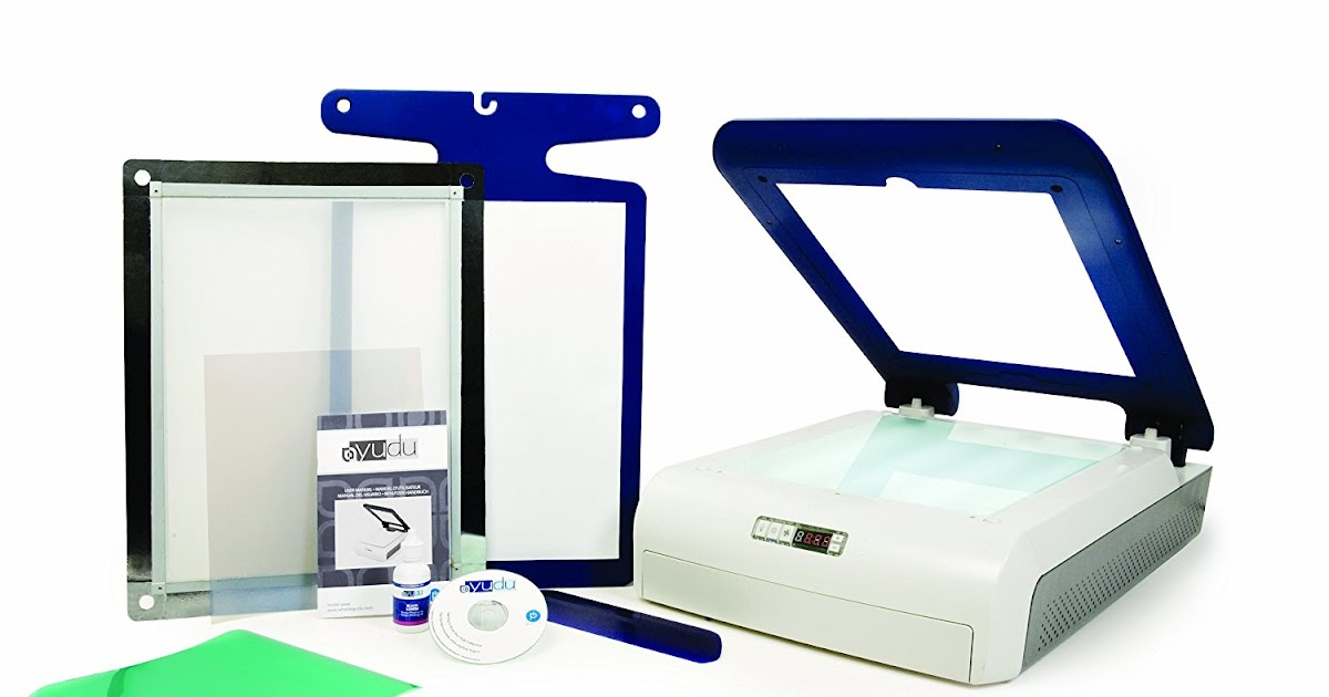Screen Printing Machine Reviews and Buying Guides: Yudu ...