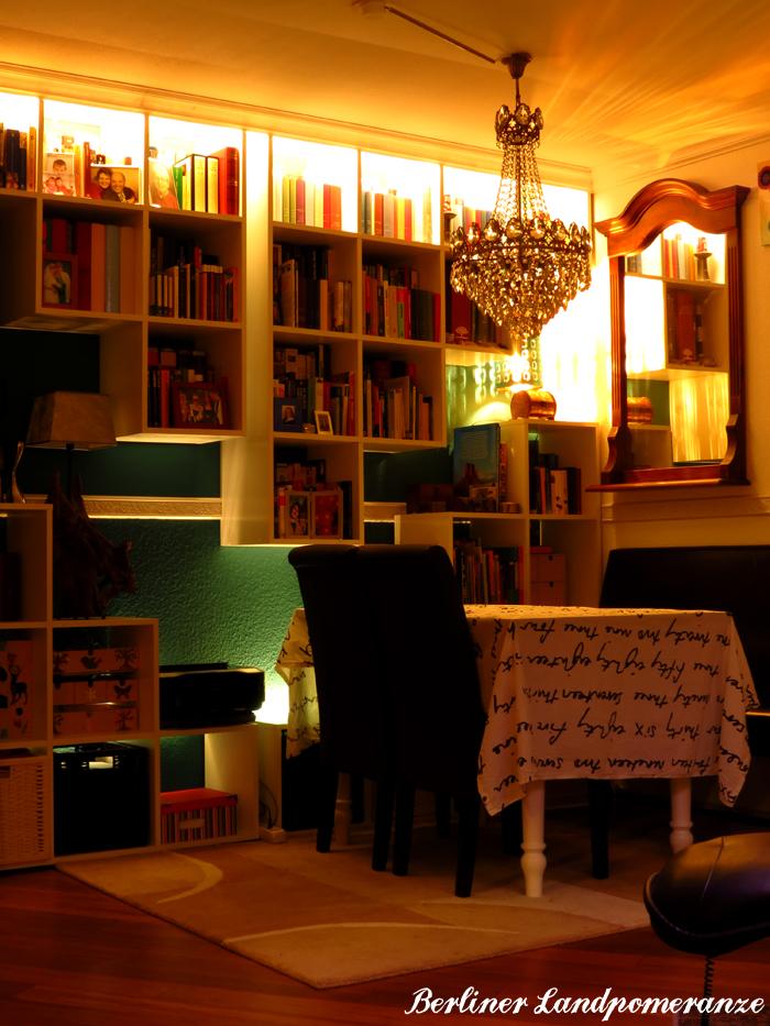 berliner landpomeranze ein berlin gartenblog indirekte beleuchtung im wohnzimmer. Black Bedroom Furniture Sets. Home Design Ideas