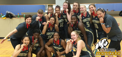 Image result for 2014 canada basketball national championships manitoba 17U girls