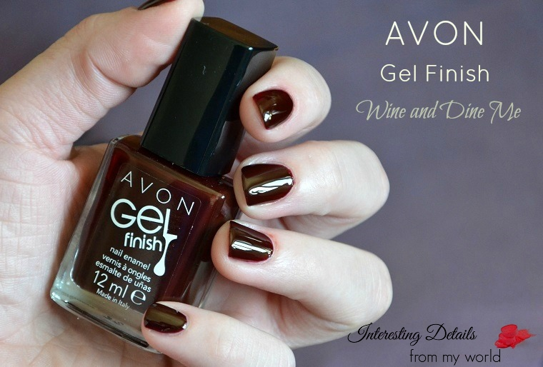 AVON Gel Finish Wine and Dine Me