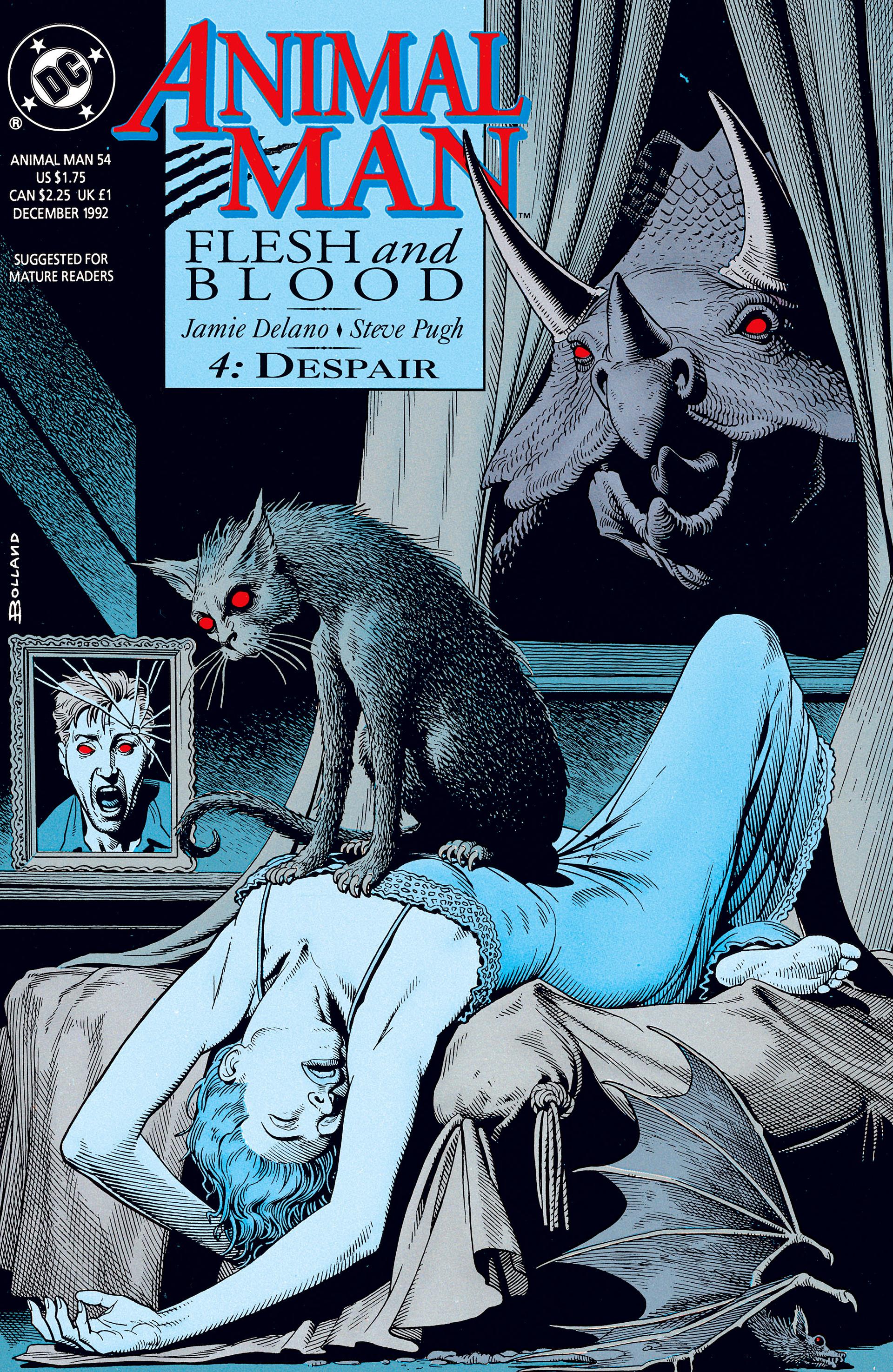 Read online Animal Man (1988) comic -  Issue #54 - 1