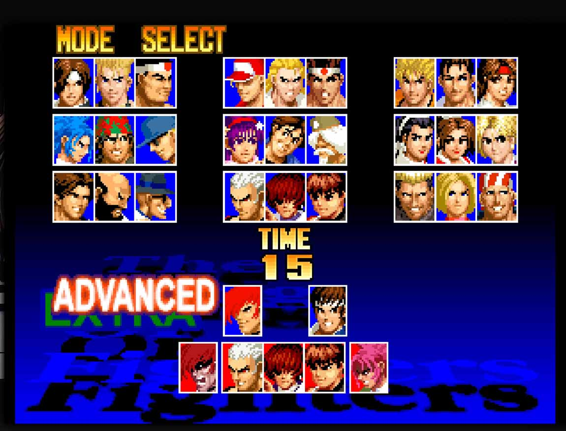 king of fighters emulator for android
