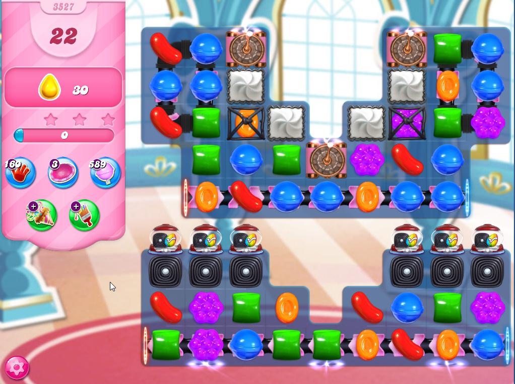 Candy Crush Saga level 3527