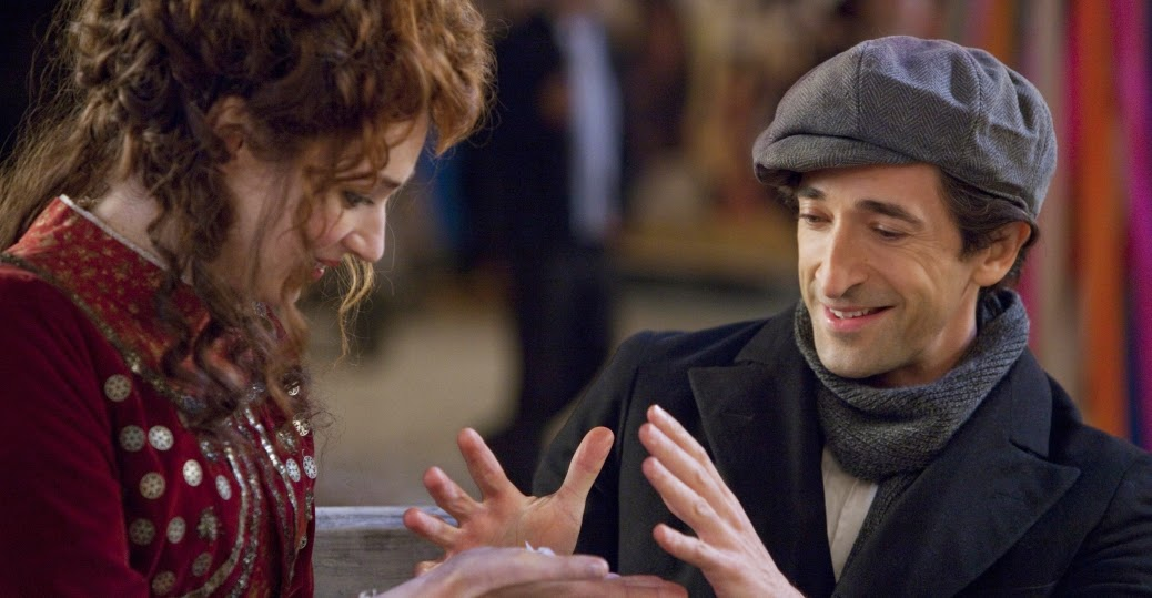 Adrien Brody and Kristen Connolly as Harry Houdini and his wife Bess Houdini in History Channel TV Mini-Series