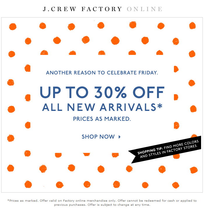 picture relating to J Crew Factory Printable Coupons known as J team outlet coupon codes printable