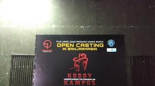 Casting film Koboy Kampus