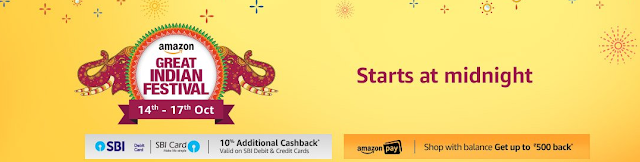 Amazon Great Indian Festive Season Sale: Last Chance to grab your loving products.
