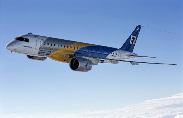Embraer E2 Jet E190 While Flight Testing