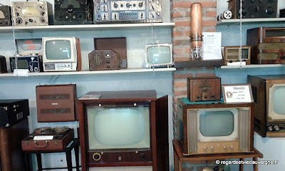 Musée : Electrodrome de Magnet, Allier., TSF radio