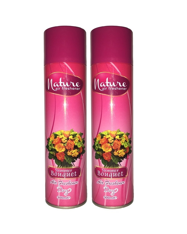 Pack Of 2 - Nature Summer Bouquet Air Freshener 300 ml