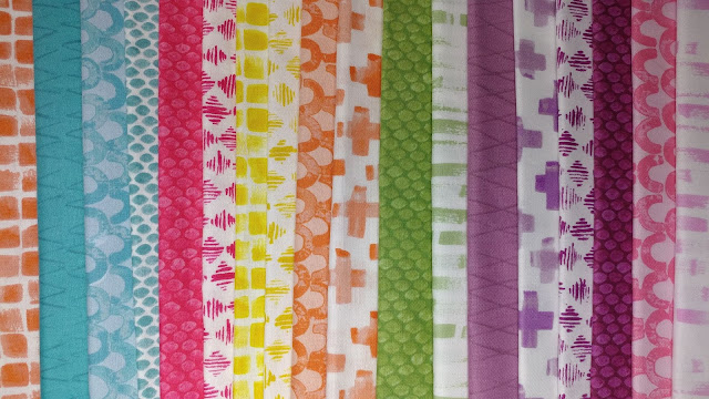 By Hand fabrics by Amy Friend of During Quiet Time for Contempo