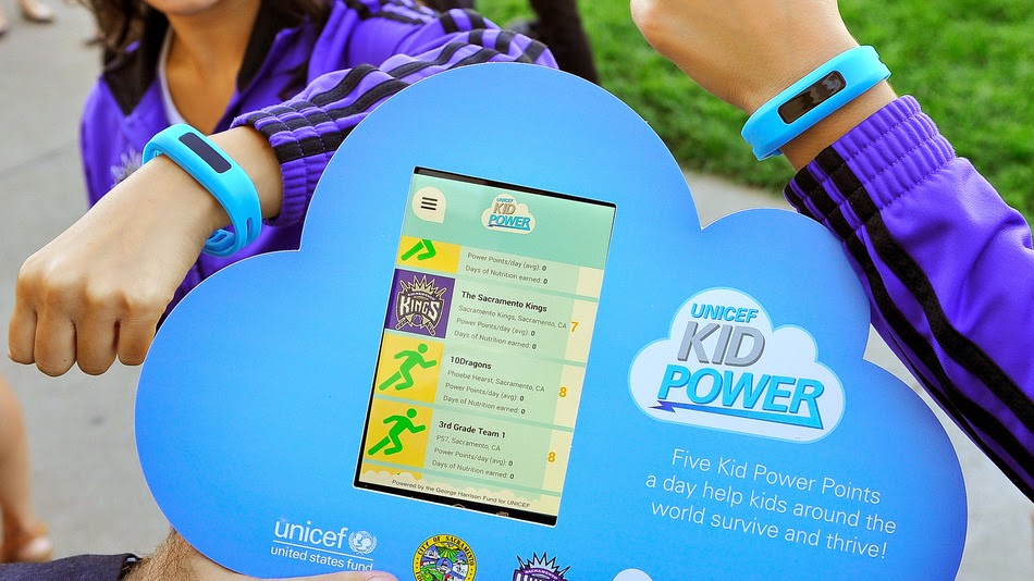 UNICEF Kid Power promove vida mais fitness e salva vidas