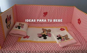 set de cuna minnie