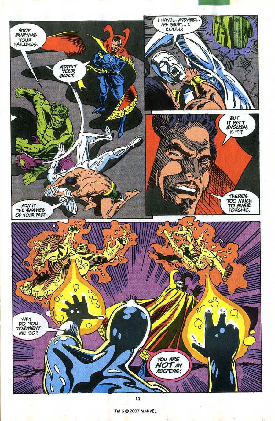 Read online Silver Surfer (1987) comic -  Issue #58 - 15