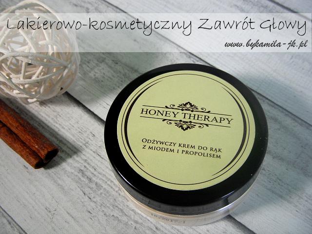 Honey Therapy krem do rąk z miodem i propolisem na zimę