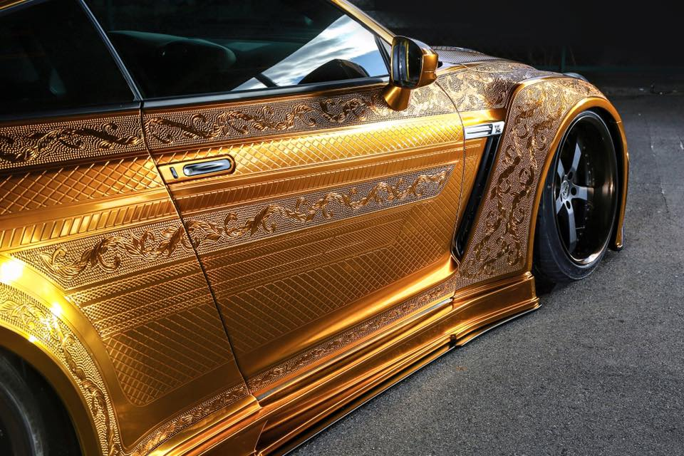 The last and most luxurious Nissan GTR 2