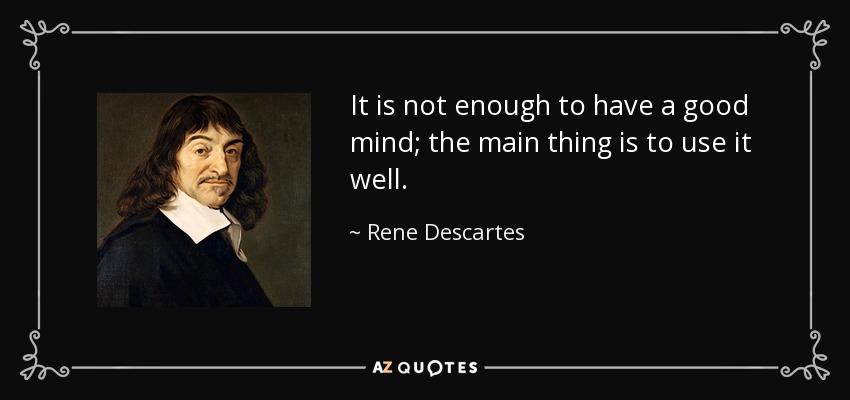 rene descartes father of modern philosophy