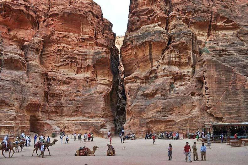 El Siq, la gran garganta de Petra | Jordania